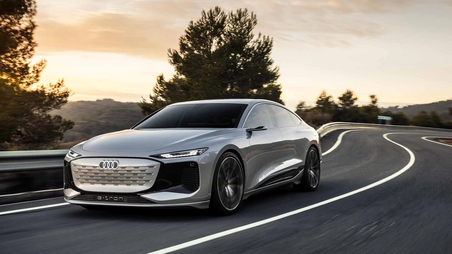 Audi A6 e-tron Elbilar 2022