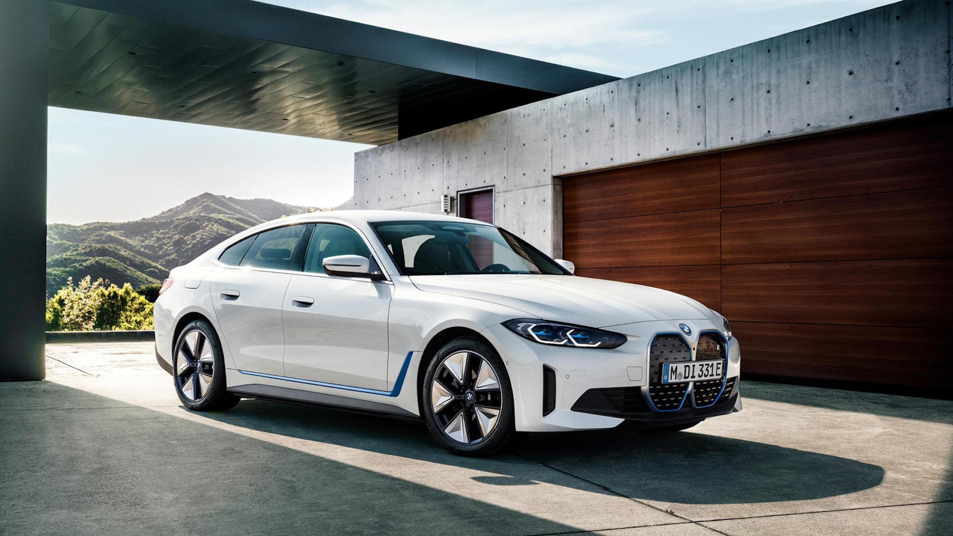 BMW i4 Elbilar 2022