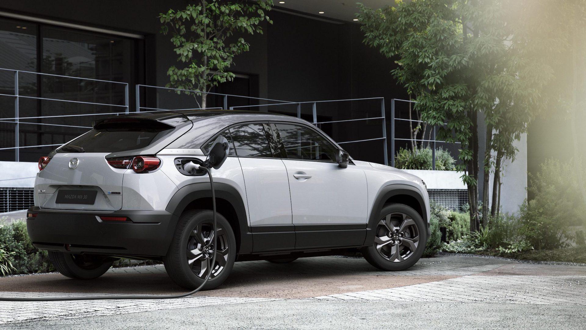 Mazda MX-30 Elbilar 2022
