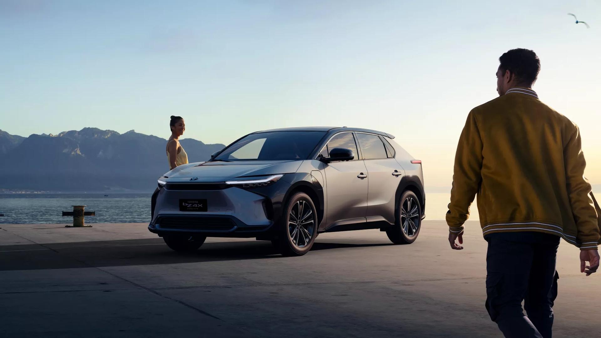 Toyota bZ4X Concept Elbilar 2022